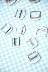 Nickel Slider Buckle 20mm x 1