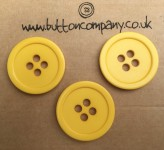 15-4120 Yellow Mustard Coat Button x 1