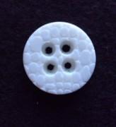 17-1057 White 4 hole button x 1