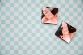 Sew On Acrylic Faceted Gem - Light Brown - 25mm x 1