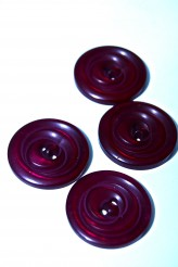 32-8012 40L Plum Button x 1   LIMITED STOCK