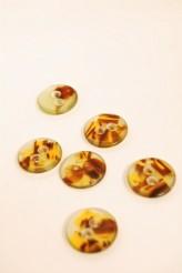 34-P3297 28L Tortoiseshell Button