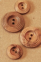 40-5574 wooden record button x 1