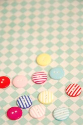 40-52232 20L Stripy Button x 1