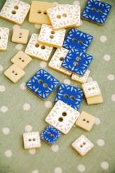 53-PA449-11236 Square Tile Button x 1