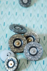 Decorative Butcher Buttons x 1