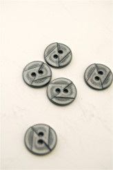 70-1975S 24L Grey Button x 1