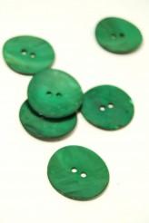 40L Agoya Shell Button Green
