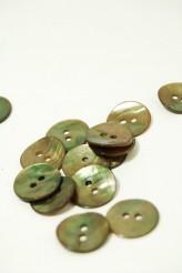 24L Agoya Shell Button Olive
