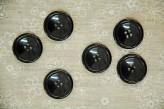 Simple Black Coat Button