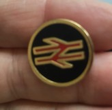 15-4162 British Rail Uniform style button