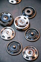 Chunky Metal Popper/ Snap Fastener x 1