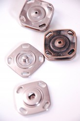 Chunky Metal Popper/ Snap Fastener x 1