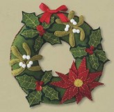 Christmas At Your Door Wreath Kit