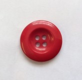 DLS-1276 RED COAT BUTTON x 1