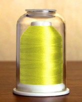 1044 Canary Yellow Hemingworth Machine Embroidery & Quilting Thread