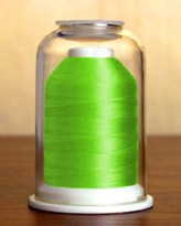 1273 Brilliant Lime Hemingworth Machine Embroidery & Quilting Thread