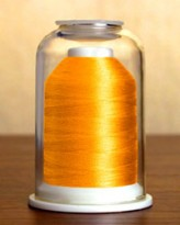 1276 Tropical Orange Hemingworth Machine Embroidery & Quilting Thread