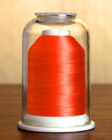 1281 Neon Peach Hemingworth Machine Embroidery & Quilting Thread