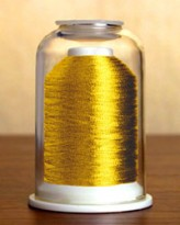 9011 Metallic Dark Gold Hemingworth Machine Embroidery & Quilting Thread  LIMITED STOCK