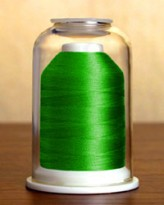 1093 Kelly Green Hemingworth Machine Embroidery & Quilting Thread