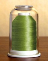 1089 Leafy Green Hemingworth Machine Embroidery & Quilting Thread
