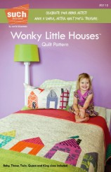 Wonky Little Houses Quilt Pattern - Such Designs