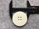 14-04100 70L White coat button x 1