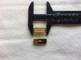 18-S4002 Gold Bar Shank Button x 1