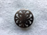 18-S3023 Antique Copper Button x 1