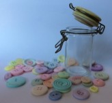 Mini Kilner Jar with 45g Buttons