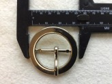 18-S2012  x 1 Round Metal Buckle