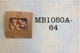 MB1050A-64 - Coconut Button in a Matchbook