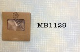 """MB1129 - 5/8"""" Brooch Pins in a Matchbook"""