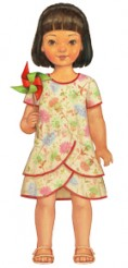 Oliver + S Pinwheel Tunic + Slip Dress Sewing Pattern LAST ONE