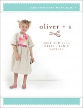 Oliver + S Hide and Seek Dress and Tunic Pattern LAST ONE