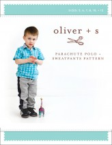 Oliver + S Parachute Polo and Sweatpants Sewing Pattern