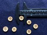 17-1068 Wood Effect Shirt Button x 10